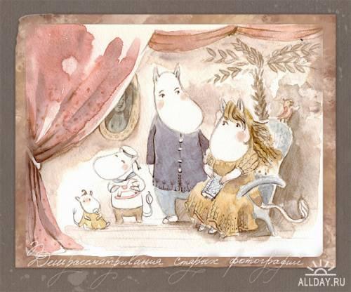 Иллюстрации Овчарова Екатерина
