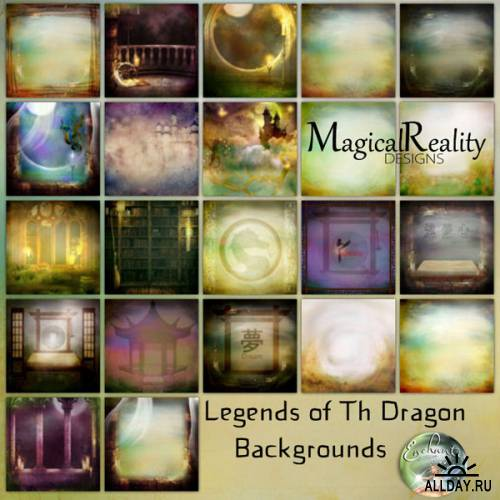 Scrap kit  Legends of Dragon