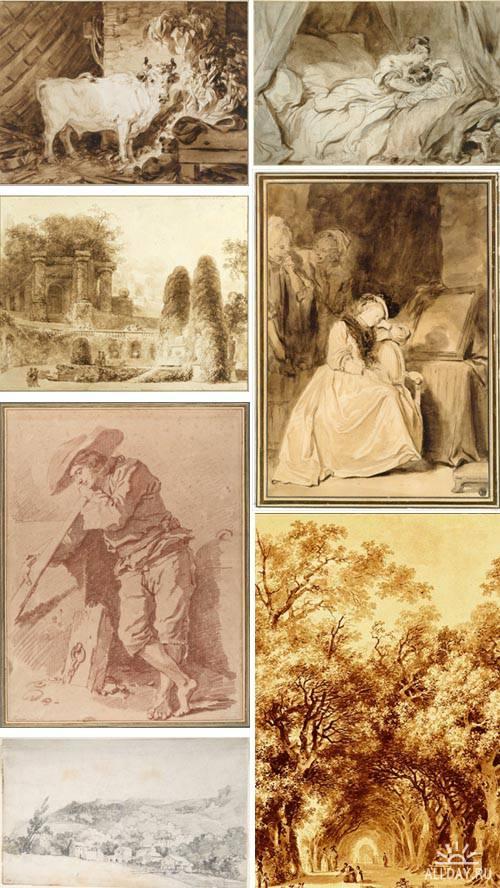 Artworks by Jean-Honore Fragonard