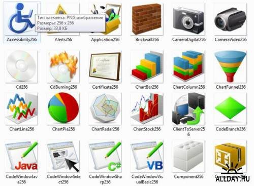 Иконки для системы Windows xp и 7
