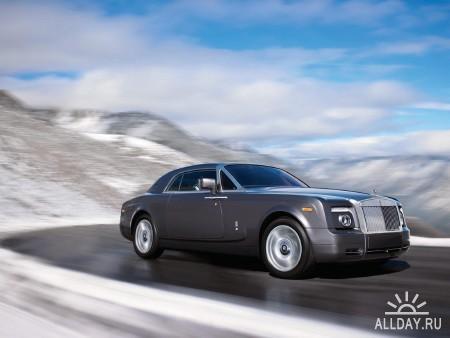 100 Amazing Rolls-Royce Phantom HQ wallpapers
