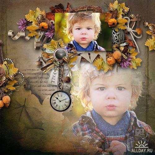 Скрап-набор Falling Leaves