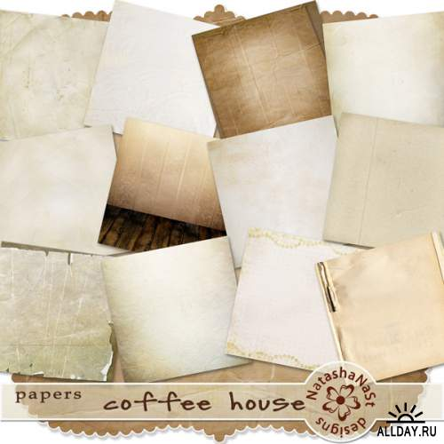 Scrap kit Coffee House