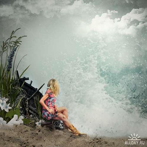 Скрап-набор The perfect storm