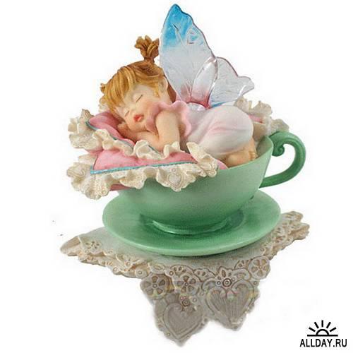 Animals Fairy figurines   Статуэтки фей и животных