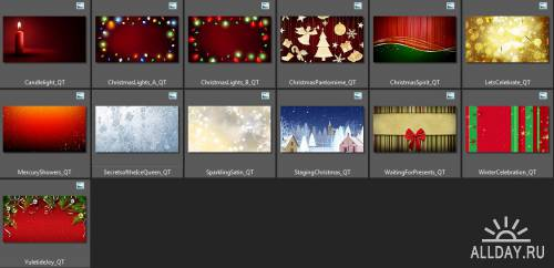 Digital Juice - Animated Christmas Canvases 1