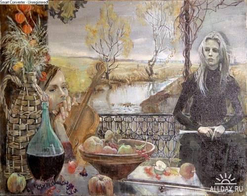 Художница Наталья Тур