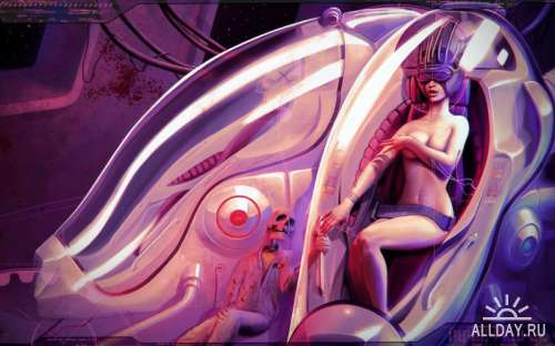 Oliver Wetter (aka Fantasio) artwork