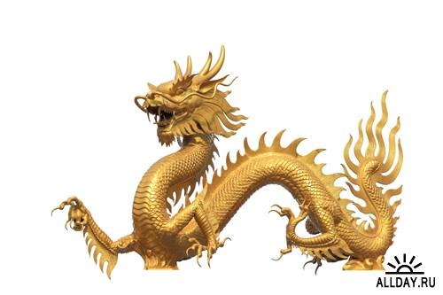 Статуэтки драконов | Dragon Statue - UHQ Stock Photo