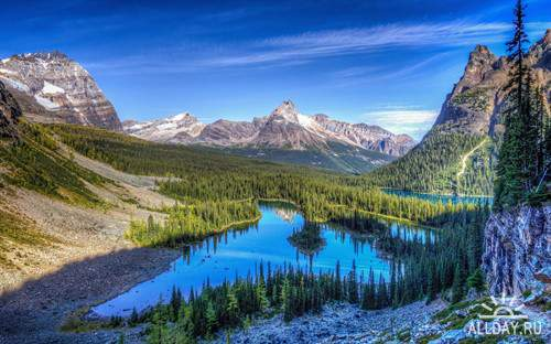 Красивые фото-картинки природа обои для фона рабочего стола