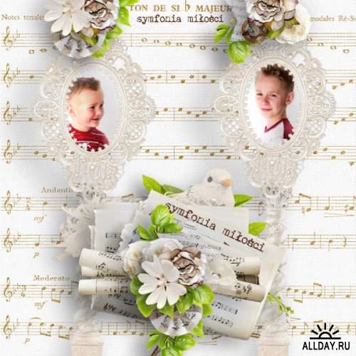 Скрап-набор Concerto