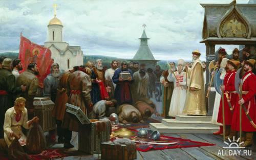 Русские и советские художники. Часть 41