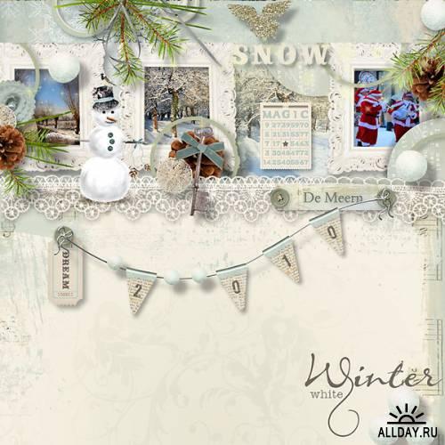 Скрап-набор Winter White