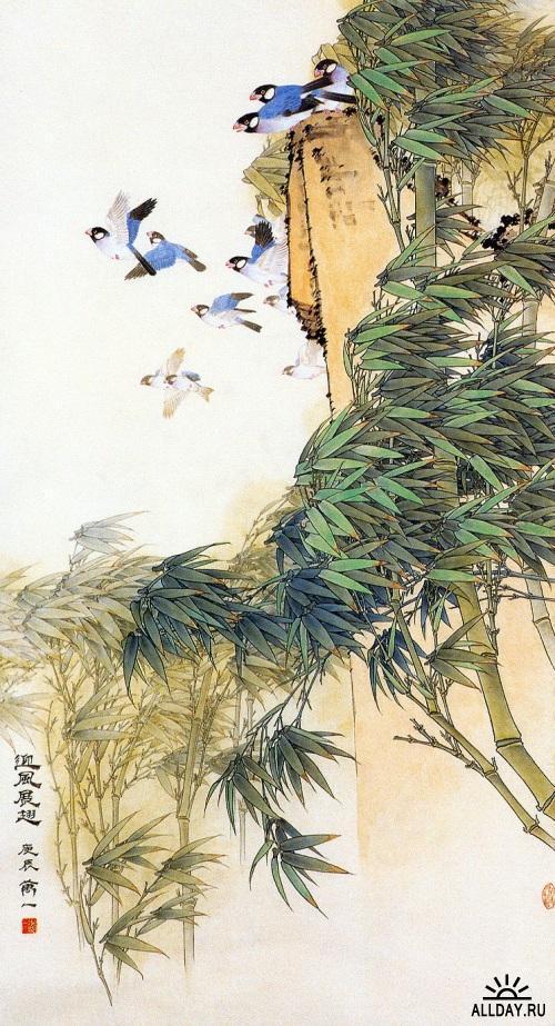Работы китайского художника Wan Yi