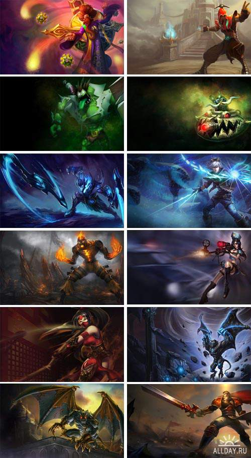 Digital Art -  League of Legend