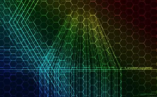Абстрактная графика для фона на рабочем столе 67