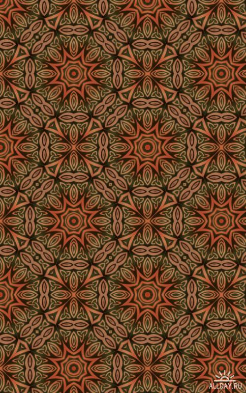 Заливки для Photoshop - Oriental Pattern