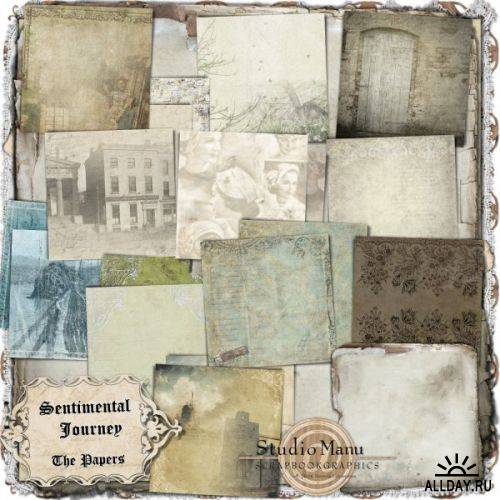 Scrap kit  Sentimental Journey