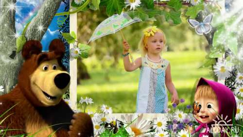 Маша и медведь - детский проект для ProShow Producer®