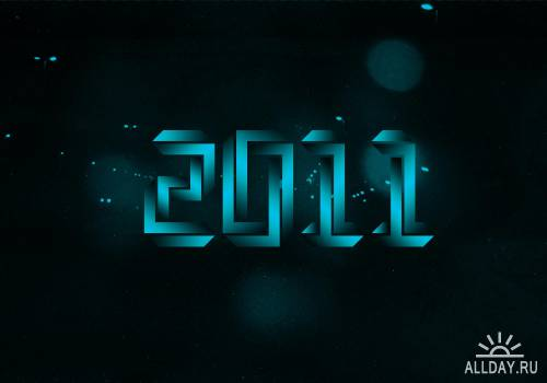 60 HD New 2011 Year HQ Wallpapers
