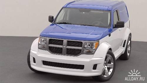 Обои с автомобилями Dodge