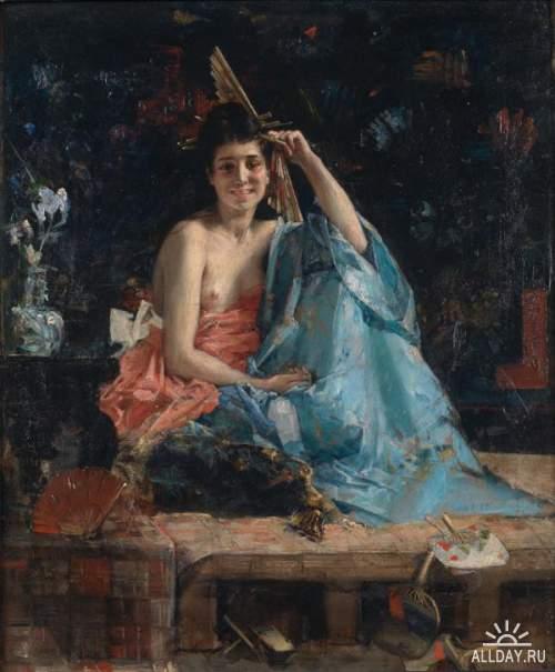 Французский художник Leon Francois Comerre (1850 – 1916)