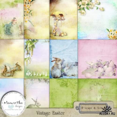 Скрап-набор Vintage Easter