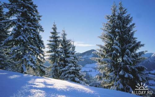 Зимние пейзажи. 2
