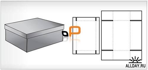 Packaging | 25 оригинальных векторных (EPS) выкроек