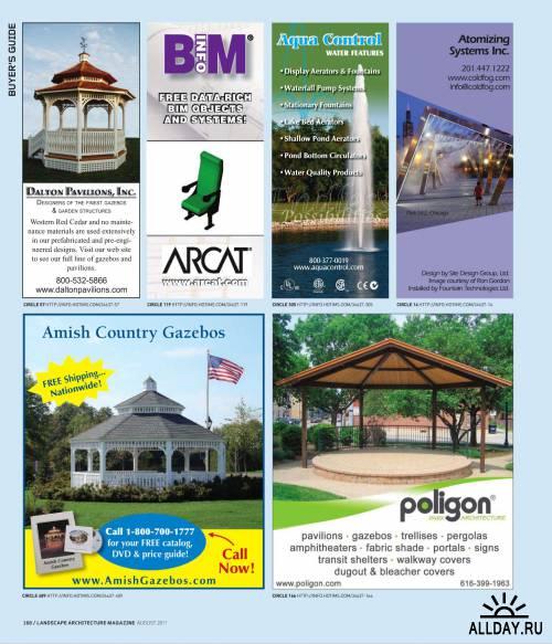 Landscape Architecture №8 (август 2011) / US