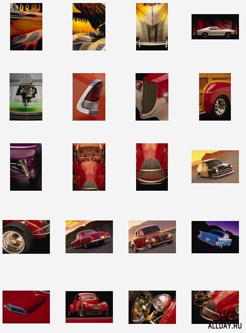 Retro automobiles HQ images | Ретроавтомобили высококачественный клипарт