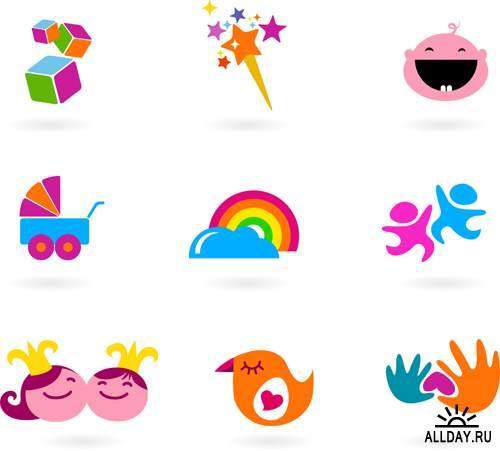 Логотипы рисунки детей