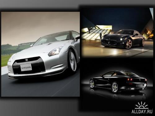Лучшие обои с автомобилями (часть 2)
