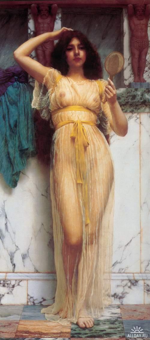 Джон Уильям Годвард (John William Godward) - галерея античных красавиц