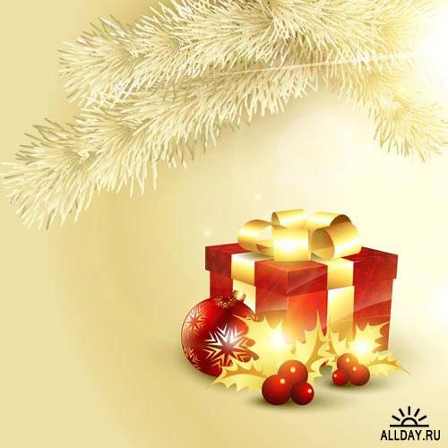 Новогодний фон 48 | Christmas background 48