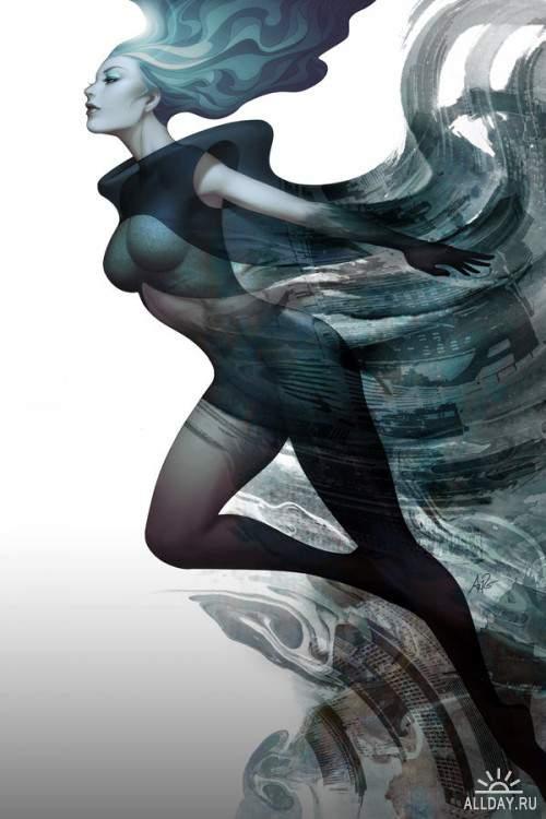 Работы художника - Stanley Lau / Artgerm (part 2)