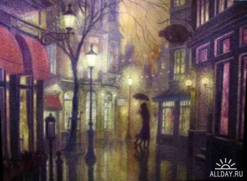 Denis Nolet. Танго под дождём