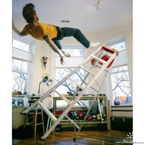 Падающий фотограф Kerry Skarbakka
