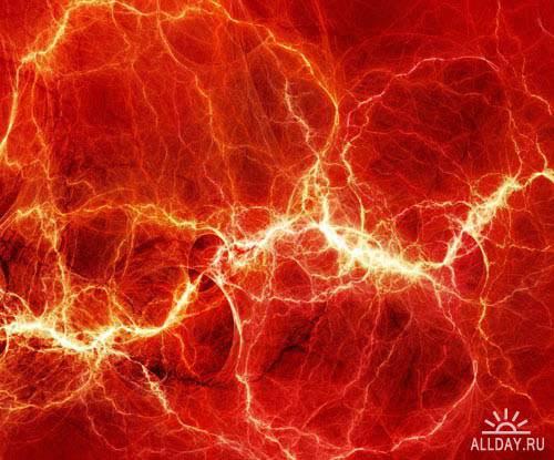 Abstract lightning background   Абстрактный фон с молниями