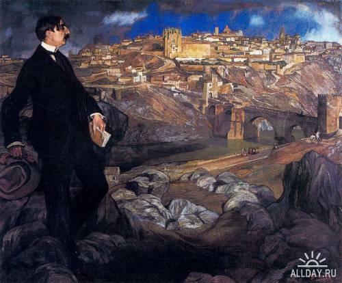 Ignacio Zuloaga (1870 - 1945, Испания)