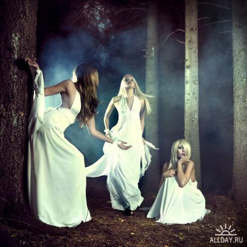 Фотосток - Красивые девушки / Beautiful girls 03