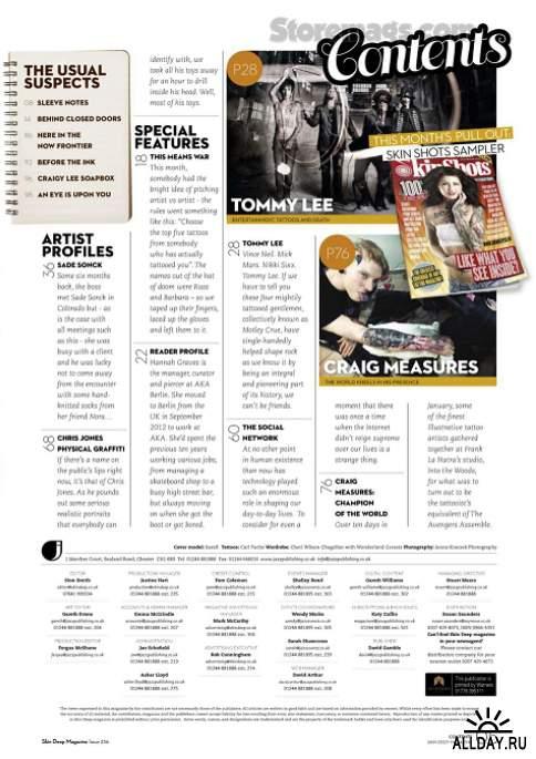 Skin Deep Tattoo Magazine Issue 236 (May 2014) UK