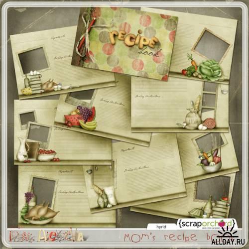 Scrap kit  Mommys Cookbook