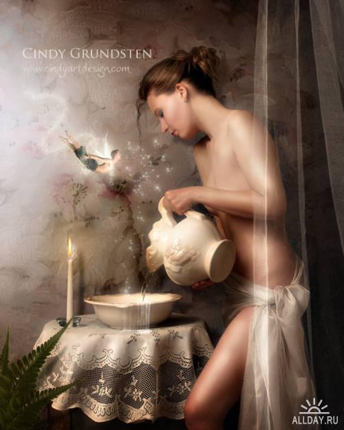 Новые и старые работы Cindy Grundsten