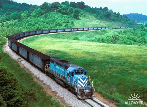 Обои Поезда