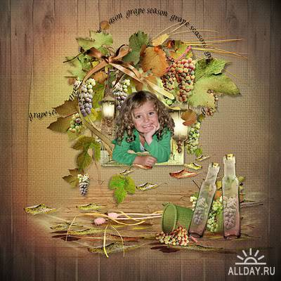 Scrap kit  Grape season