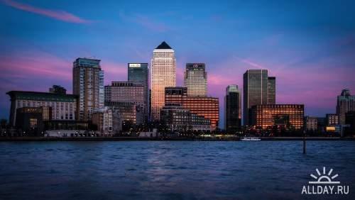 Фото архитектуры крупных городов мира на фон рабочего стола 11