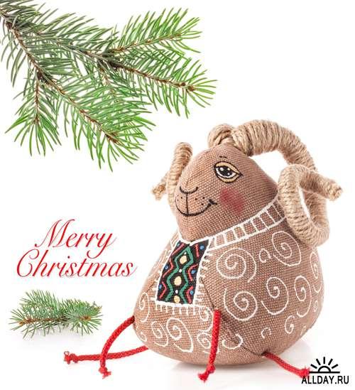 Овца - символ 2015 Нового года - Растровый клипарт | Sheeps 2015 - UHQ Stock Photo