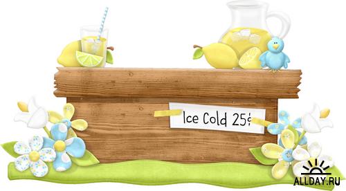 Scrap kit   Life's Little Lemons