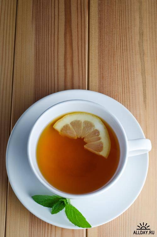 Горячий чай #5 - Растровый клипарт
